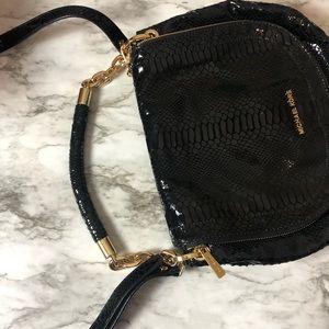 Michael Kora Black Crossbody bag